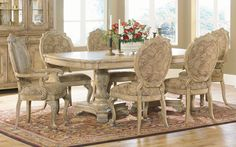 DINING ROOM FURNITURE, DINING ROOM TABLE, DINING TABLES, DINING CHAIRS, formal and casual Dining Room Furniture including Chairs, Tables, Bu...