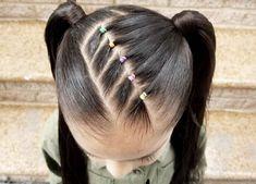 Cute Toddler Hairstyles, Girls Hairdos, Lil Girl Hairstyles, Braided Hairstyles, Wedding Hairstyles, Princess Hairstyles, Girl Haircuts, Wedding Updo, Natural Hair Styles