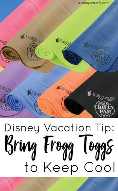 Disney Vacation Tip: Bring Frogg Toggs to Keep Cool and Beat the Florida Heat - by disneyunder3.com