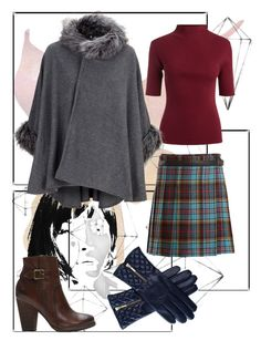 """""""Winter Wardrobe Essentials"""" by mariannoi on Polyvore featuring Umbra, Junya Watanabe, Black and Frye"""