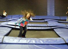 Get jumping SkyZone is a trampoline park that will allow you to forgo gravity (if only for a second or two). This is a great place to have fun and get a workout at the same time. Prices start at $8 per person ($6 for toddlers) for half an hour of jumping.
