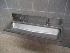 Get Inspired With Captivating Trough Sink That Will Transform Your  Bathroom: Stunning Stainless Steel Trough