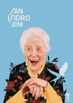 Descarga gratis los carteles de San Isidro 2018 de Mercedes deBellard 6