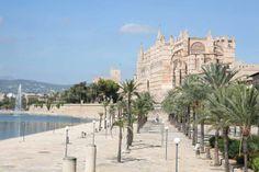 Jardines del Parc de la Mar. Palma de Mallorca
