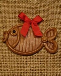 ryba Clay Crafts For Kids, Paper Jewelry, Salt Dough, Cold Porcelain, Gingerbread, Polymer Clay, Advent, Retro, Christmas