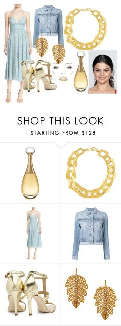 """Summer Date Night"" by catvondea on Polyvore featuring Christian Dior, Stephanie Kantis, Rebecca Taylor, 3x1, Dee Keller and Marika"