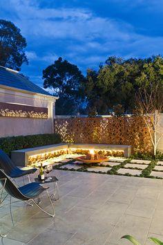 Creative Outdoor Solutions contemporary garden in Melbourne, AU. Contemporary garden patio living home decor gardens plants flowers diy outdoor house modern inspiration