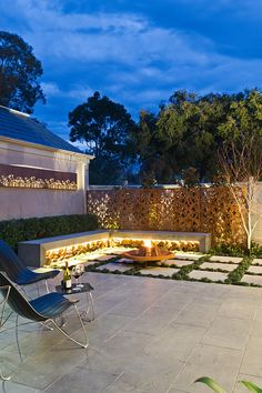 Creative Outdoor Solutions contemporary garden in Melbourne, AU. Contemporary garden patio living home decor gardens plants flowers diy outdoor house modern inspiration