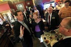 Photo #54 #prezpix #prezpixrs election 2012 candidate: Rick Santorum publication: Los Angeles Times LA Times photographer: Mark Sweda Chicago Tribune publication date: 3/16/12