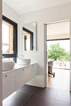 lavabo - House-in-Lyon par Damien Carreres - Lyon, France