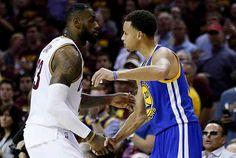 Stephen Curry y LeBron James en equipo ideal de la NBA