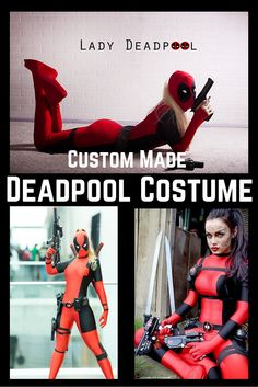 Deadpool Costume Awesome for Cosplay Convention. It is custom made to your exact measurements.