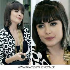 Maria Casadevall - Novela Amor a Vida www.priacessorios.com.br