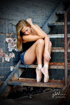 Senior pictures as a dancer