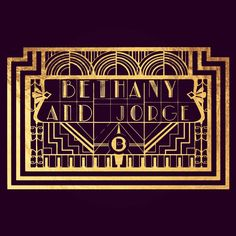 I just finished rereading #gatsby and had a #flashback to this wedding logo. Who else is having a 20s themed wedding? . . #fbf #friday #fridaynight #friyay #tgif #flashbackfriday #weddinglogo #monogram #logo #weddingplanning #weddinginspiration #customart #artdeco #artdecowedding #gatsbywedding #gatsbytheme #gatsbystyle #bookstagram #1920s #20s #1920stheme #vintage #vintagestyle #featuremeoncewed #bridebook #invitations #name