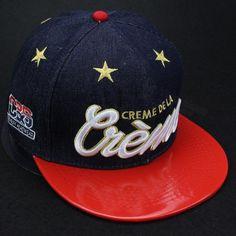Encontrar Más Gorras de béisbol Información acerca de 2015 nuevos profundo  azul   rojo de moda ajustable de béisbol marca snapback sombreros y gorras  para ... 09667d3ec7e