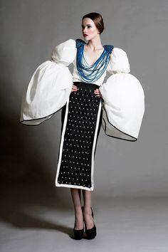 Romanian traditional costume reinterpreted by Beliv / Port românesc reinterpretat de Beliv. https://www.facebook.com/photo.php?fbid=585892711527231set=a.367863426663495.1073741828.261933247256514type=1theater