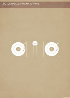 Two Turntables and  a Microphone by Ajan Navaratnasingam, via Behance