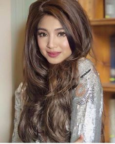 Nadine Lustre (ctto) Filipina Makeup, Filipina Beauty, Nadine Lustre Ootd, James Reid, Jadine, Child Actresses, Best Actress, Hair Goals, Fashion Models
