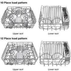 The Correct Way to Load Dishes for Every Major Dishwasher Brand, As Shown In Their Manuals