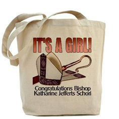 The Rt. Rev. Katharine Jefferts Schori is the Episcopal Church's first female Presiding Bishop....Our 100% cotton canvas tote bags have plenty of room to carry everything you need when you are on the go. They include Price - $15.00