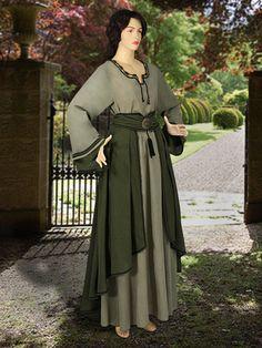 Medievale Costume europeo-stile sassone Abito di YourDressmaker