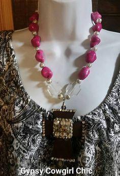 Gypsy Cowgirl Chic Pink Turquoise Praying by gypsycowgirlchic