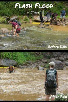 Flash Flood in Hawaii   Exploring Curiously