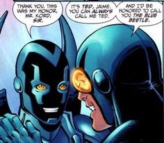 young justice blue beetle scarab - Google Search
