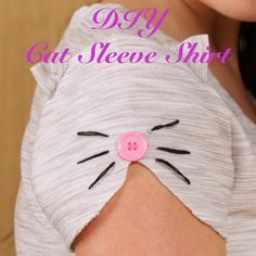 This Is How You Make The Cutest Cat Sleeve Shirt