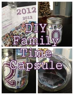 filling steph's time capsule ideas...New Year's #Family #Time #Capsules