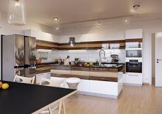 Nội thất đẹp đẽ – Phòng bếp sạch sẽ