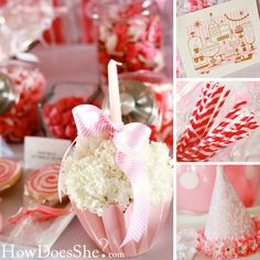 Sweet Shoppe Party - Twins' First Birthday // HowDoesShe.com