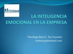 La inteligencia emocional aplicada campo laboral by Ruth Vargas Gonzales via slideshare