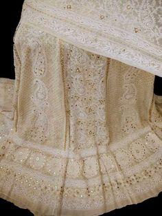 Bridal Wedding Lehenaga | Chikankari Lehenga Online