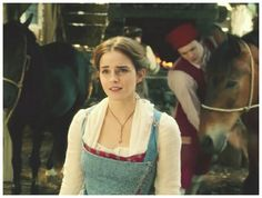 Emma Watson lioe Belle in new amazing Beauty and the Beast movie ❤❤❤