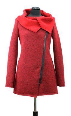 Bei Schnittquelle finden Sie Schnittmuster - wie z.B. Jacke Zossen die einfach zu nähen und raffiniert zugleich sind.