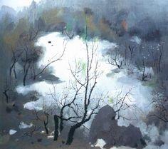 吳冠中大師的作品  Wu Guanzhong