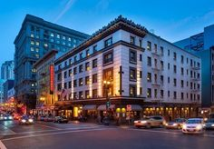 Luxury and style fuse at this cool boutique hotel in downtown San Fran, close to shopping, restaurants and bars - includes daily food and drink credit