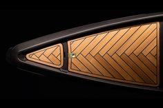 Ein Kanu und die Schönheit des High Tech #borromeodesilva #kanu #canoe #teak #carbon