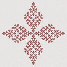 Biscornu Cross Stitch, Cross Stitch Art, Simple Cross Stitch, Cross Stitch Flowers, Counted Cross Stitch Patterns, Cross Stitch Designs, Cross Stitching, Cross Stitch Embroidery, Cross Stitch Cushion