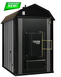 FORGE | Central Boiler | The Forge outdoor coal furnace is built with the same innovation and attention to detail you are used to seeing in your Central Boiler products.