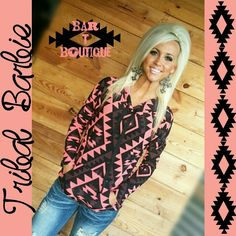 Tribal Barbie Hoodie ~ Follow @bar_t_boutique on instagram to Shop!!