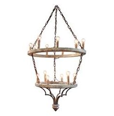 Joselyn Grand 15 Light French Country Cottage Rustic Chandelier | Kathy Kuo Home