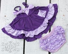Share with your friends and receive 10% off your next purchase! Purple Swing Top Set #kemaily