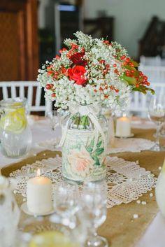 Súťaž: Moja handmade svadba! Table Decorations, Wedding, Furniture, Home Decor, Valentines Day Weddings, Decoration Home, Room Decor, Home Furnishings, Weddings