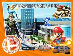 Announcing the 2nd annual Super Smash Bros. Tournament at Salt Lake Comic Con 2014! Tournaments include Super Smash Bros. Brawl and Super Smash Bros. Melee, but also the much requested Super Smash Bros Project M.! Thursday, September 4 - Saturday, September 6. CLICK for tournament schedule, rules, registration and more!