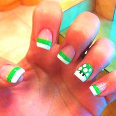My Mario nails :) I actually did something pinterest worthy haha