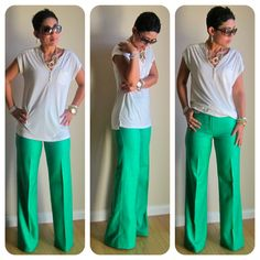 Fashion, Lifestyle, and DIY: DIY Wrap + DIY Wide Leg Slacks (Pic Heavy)