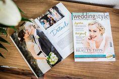 Unsere Hochzeitsreportage im Hochzeitsmagazin Weddingstyle | Christina & Eduard Wedding Photography Mainz